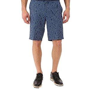Nike Golf Dri-Fit Cyber Blue Dot Print Shorts